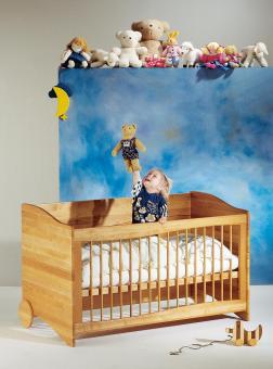 Triline 3in1 Kinderbett mit Matratze / Sofa / Schreibtisch