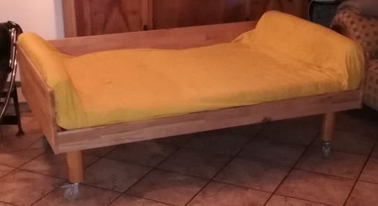 Hundebett PEPPER mit Matratze