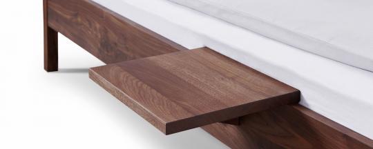 Einhänge-Nachttisch UNI  für Bettseitendicke 2,5 bis 4 cm