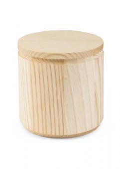Holzdose mit Deckel / Getreidefass ACTIVE