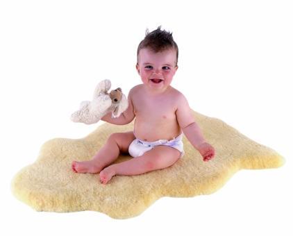 Babyfell medizinisches Schaffell