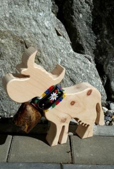 Zirbe Kalb oder Kuh (mit Glocke)
