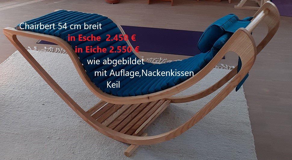 Chairbert Eiche 54 mit Stoffauflage